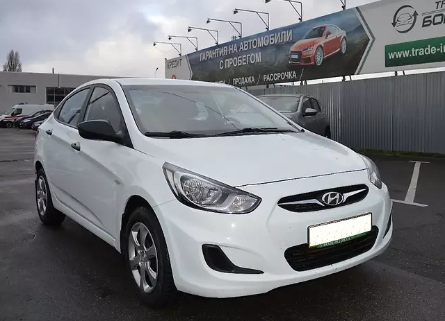 Hyundai Accent rent car kharkov